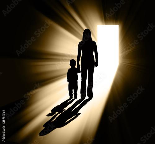 Parenting silhouette