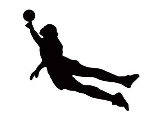 Sport Silhouette - Soccer Goalie