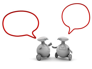 robomases hablando