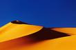 Sand dune in Sahara Desert