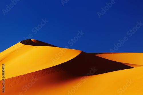 Foto op Canvas Algerije Sand dune in Sahara Desert