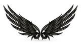 Wings black