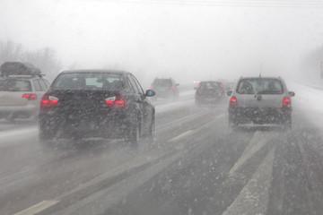 winter auf deutschlands autobahnen