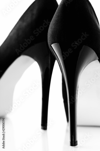 Black women shoes © Natalia Klenova