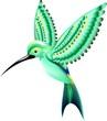 Colibrì-Uccello-Colibri-Uccello-Hummingbird-Vector