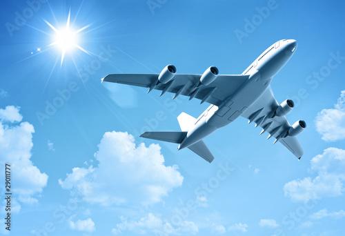 Foto op Plexiglas Vliegtuig airplane