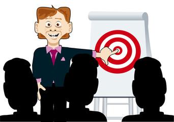Simon Sales target presentation