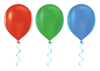 Vector Party balloons