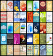 40 business cards collection