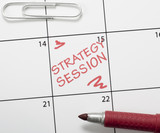 Calendar reminder, strategy session