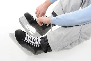 hockey skates.