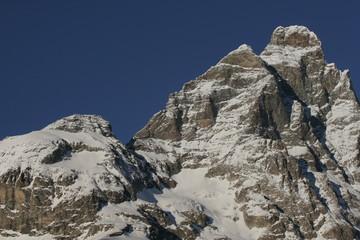Il cervino e la testa del leone- Matterhorn