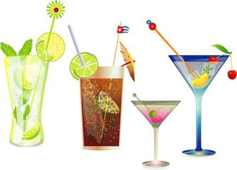 Mojito - Cubalibre - Martini