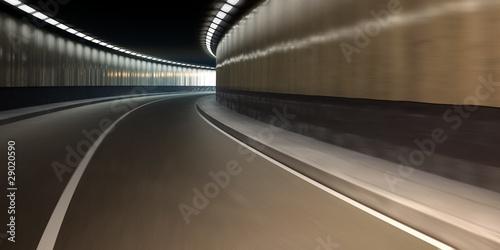 Fotobehang Tunnel Autotunnel