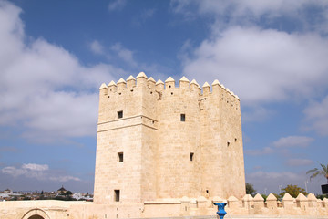 Medieval fortification in Cordoba, Spain