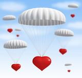 heart at  parachute poster