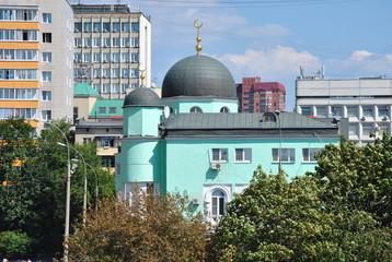 Мечеть в Москве.