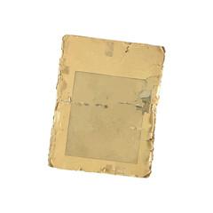 carta vintage sfondo bianco