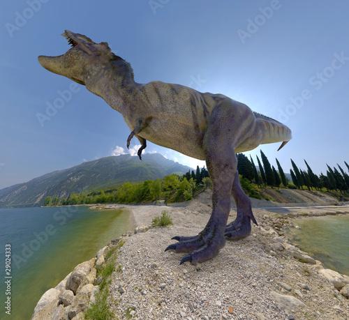 tyrannosaurus island