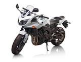 Modern white japanese motorcycle isolated on white