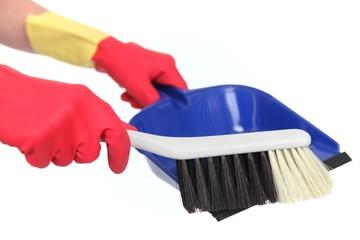 Hausarbeit, Putzkraft