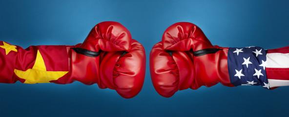 China Vs. USA Boxing