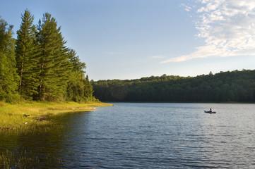 A Summertime Wilderness Lake
