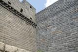 Corner Restored Mutianyu Section Great Wall, Near Beijing, China poster