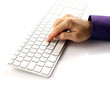 Scrivere sulla tastiera - Write on the keyboard