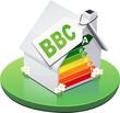 Maison à la norme BBC de classe A (détouré)