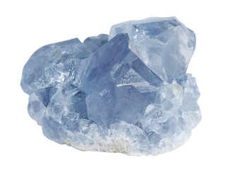 Crystals of the mineral celestine