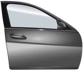 Portiera auto argento