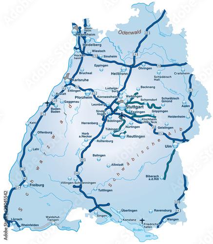Bundesland Baden Württemberg