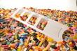 Tabletten freigestellt 58