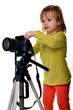 bébé isolé photographer