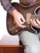 Guitarist Playing
