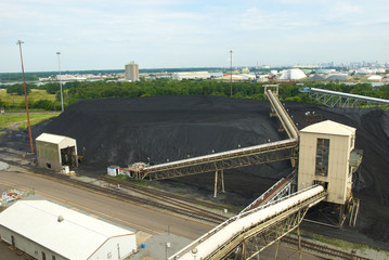Coal Heap destined for Coal Fired Power Plant
