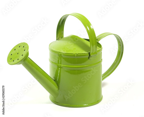 arrosoir laqué vert