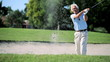 Senior Gentleman on the Golf Course