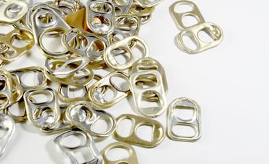 Metal ring pulls