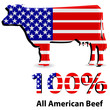 all american beef sign