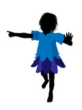 Boy Fairy Silhouette Illustration
