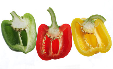 pepper halves