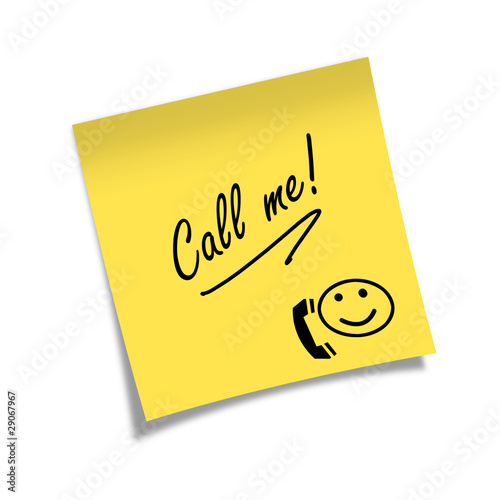 Post-it Call me!