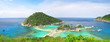 Leinwanddruck Bild - Koh Nang yuan Island, Thailand