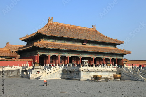 Beijing Forbidden City palace, unesco world heritage
