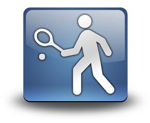 "3D Effect Icon ""Tennis"""