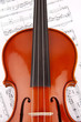 Violine Ausschnitt