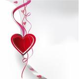 valentin,liebe,karte, modern, herz