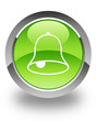 bell icon on green button